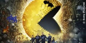 Szene aus dem Film Pixels. Videospielmonster greifen die Welt an., FILM.TV