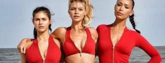 Kelly Rohrbach: Baywatch-Star oben ohne am Strand