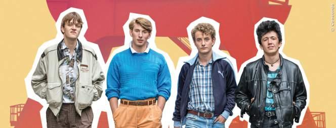 Die vier Jungs aus Radio Heimat.
