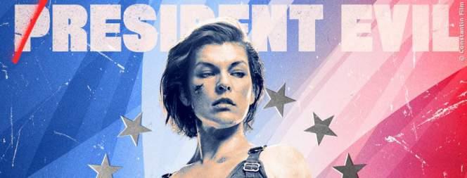 Milla Jovovich als Retterin der Welt in Resident Evil 6 - The Final Chapter