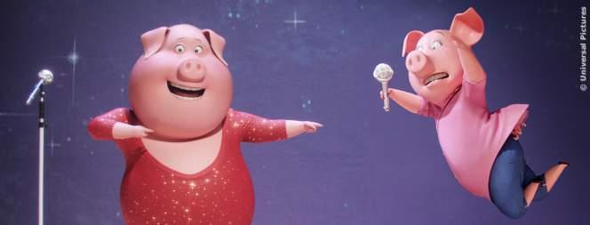 Szene aus dem Animationsspaß Sing