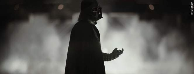 Darth Vader in Rogue One - A Star Wars Story