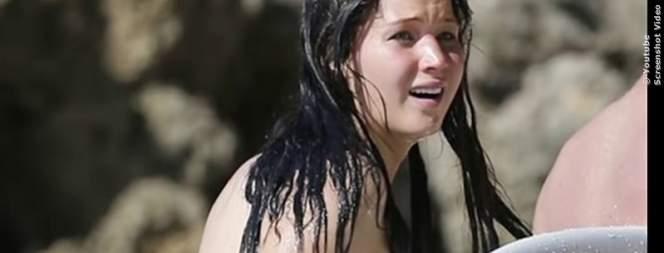 VIDEO: Hollywood-Stars beim Nacktbaden erwischt