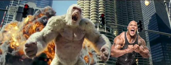 Rampage: Zweiter deutscher Trailer mit The Rock