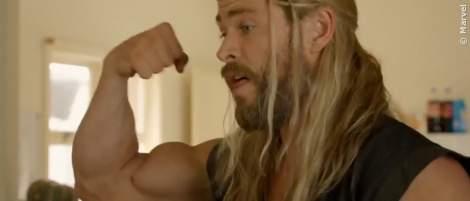 Die pure Qual: Nur mit dieser brutalen Methode bekommt man die MCU-Muskeln von Thor - News 2021