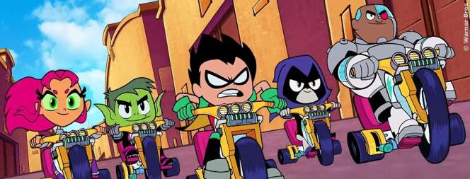 Teen Titans Go - To The Movies