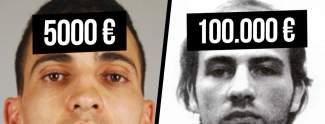 Sie sind die meistgesuchten Verbrecher Deutschlands