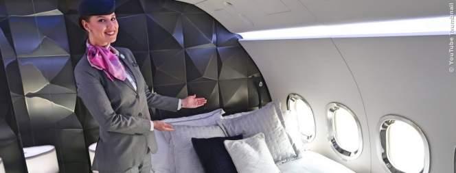 Luxus extrem: Fliegen in der ersten Klasse