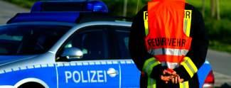 Polizeieinsatz live im TV
