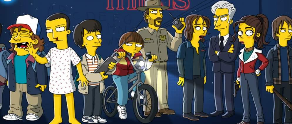 Die Simpsons verarschen Stranger Things