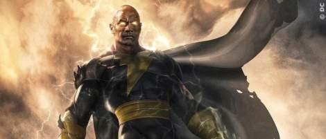 """""""Black Adam"""": Erstes Video mit Dwayne Johnson als DC-Antiheld - News 2021"""
