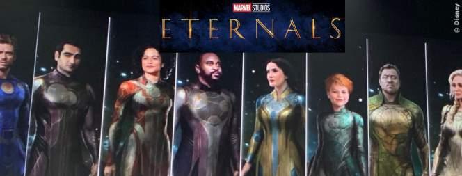 Marvels Eternals: die Superkräfte der neuen Helden