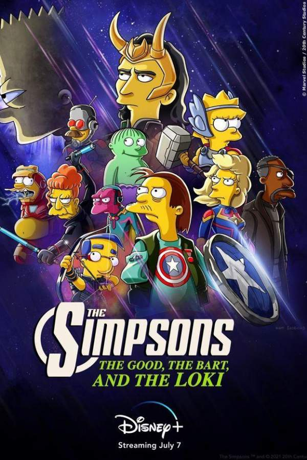 The Simpsons: Bart und Loki: Zwei glorreiche Halunken