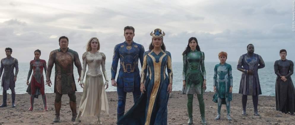 MCU-Video zeigt die Herkunft der Eternals und neue Character-Plakate stellen die Helden vor