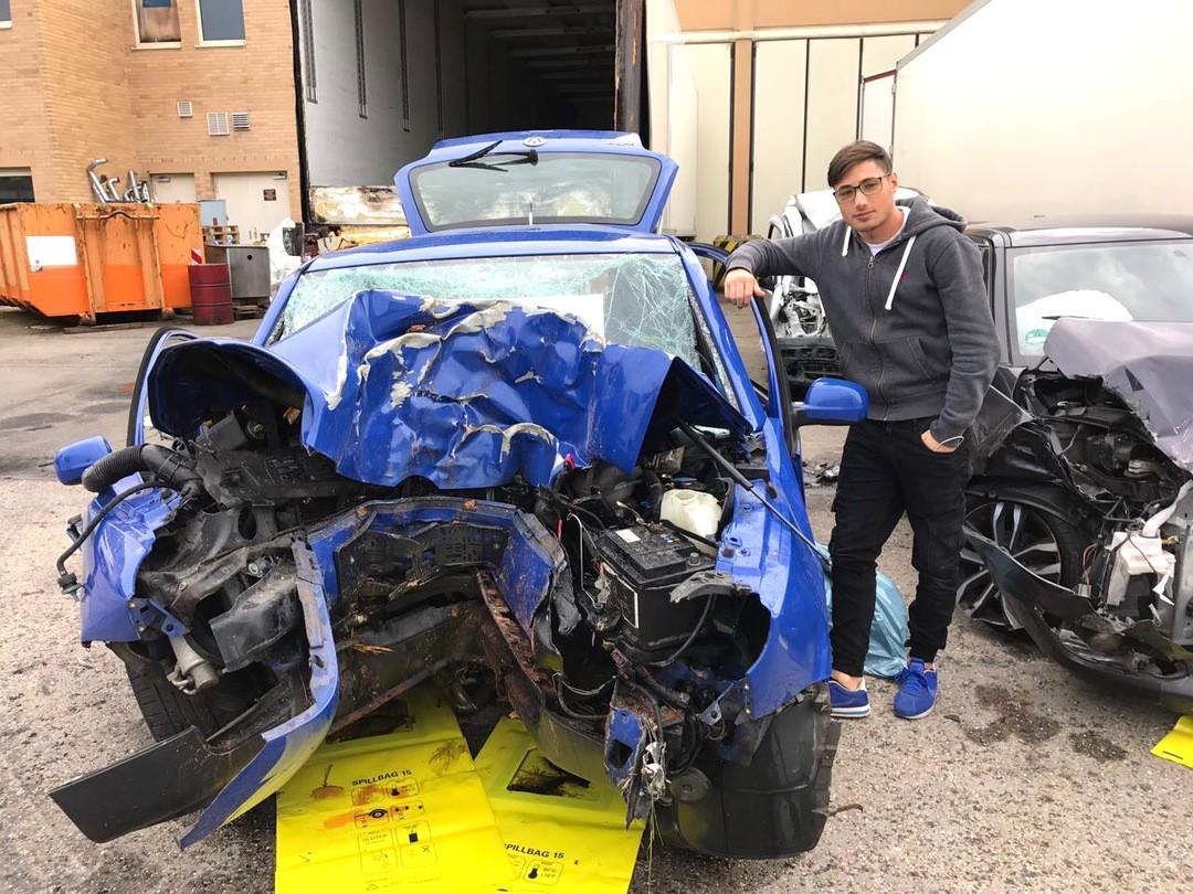 Unfallerfahrungen eines jungen Autofahrers - Bild 1 von 1