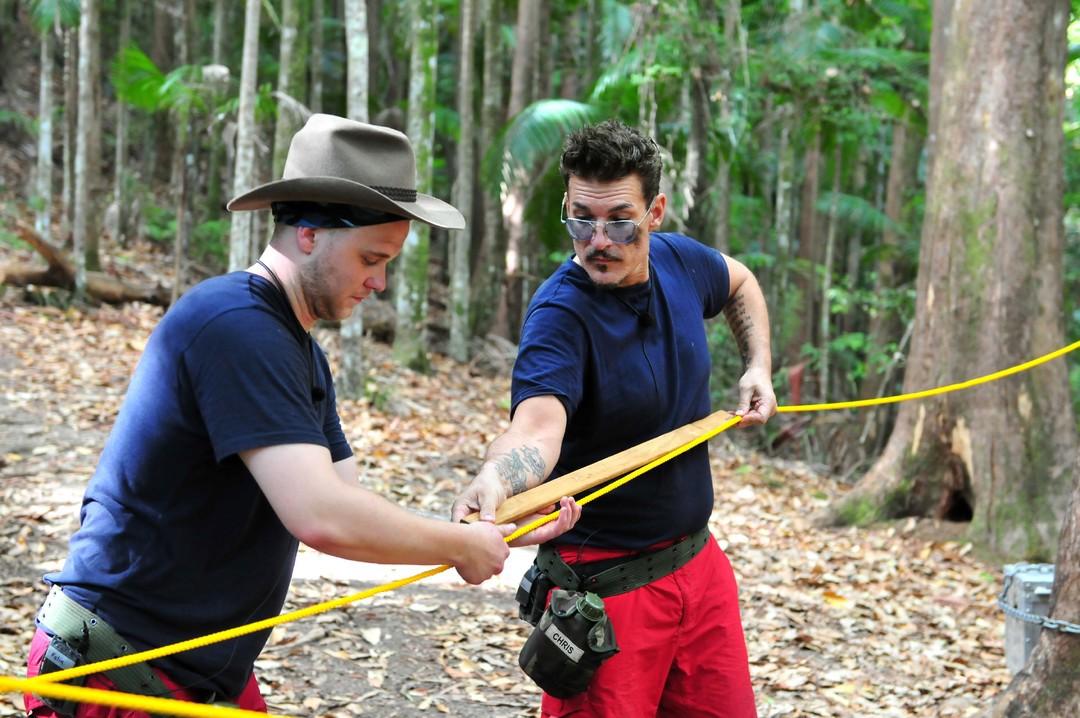 Bild Zu Dschungelcamp Tag 4 Das Blanke Entsetzen Bei