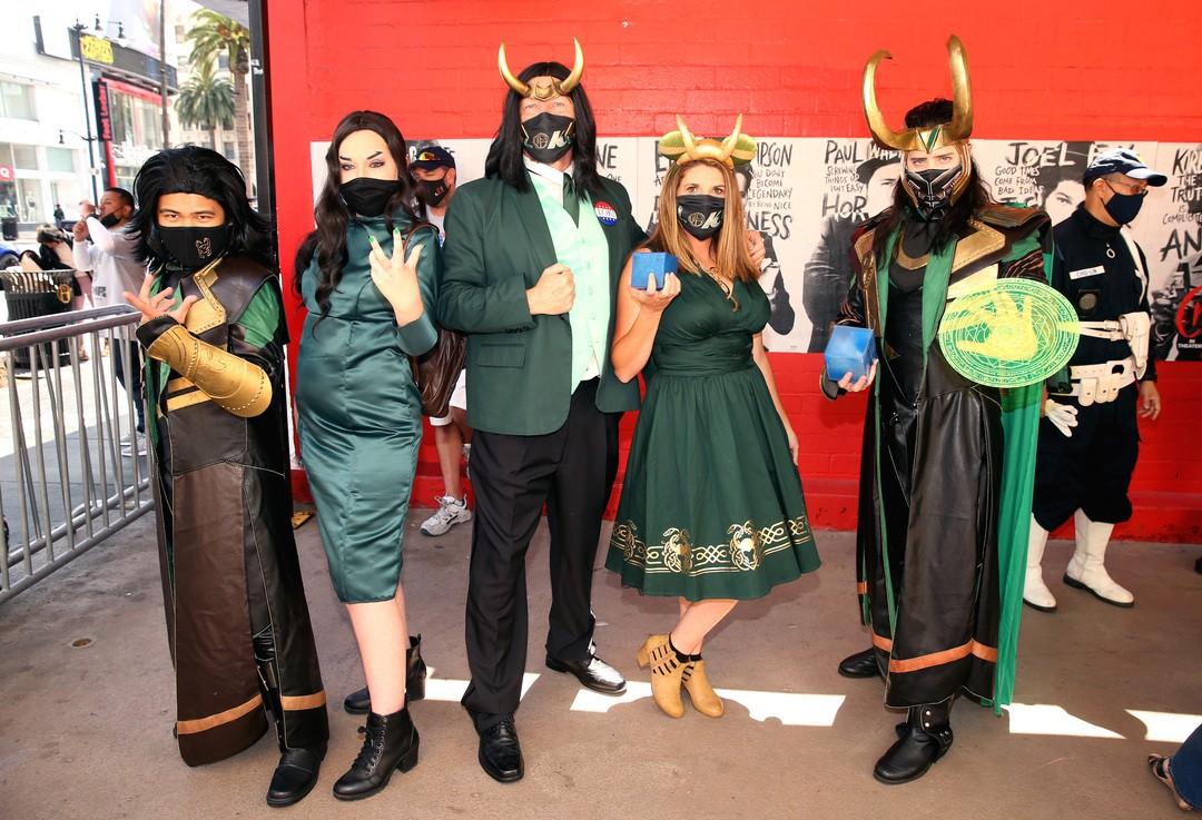 """Serienstart: So feiern Fans auf der ganzen Welt """"Loki"""""""