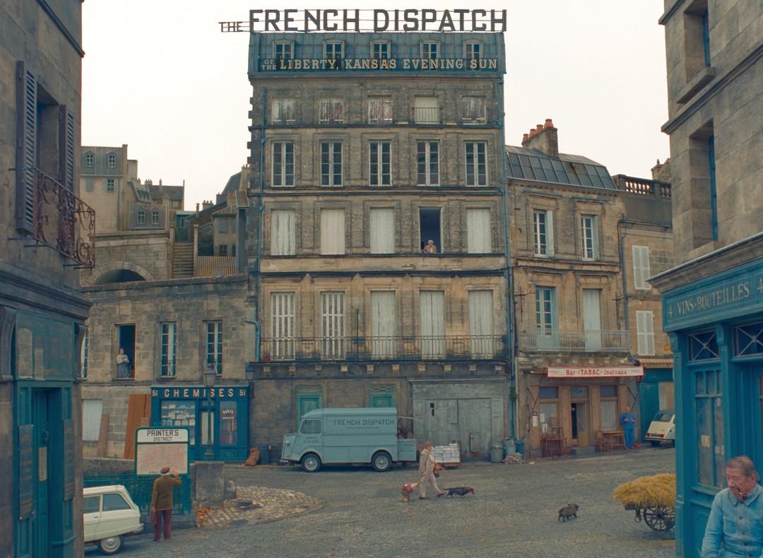 Bild zu The French Dispatch